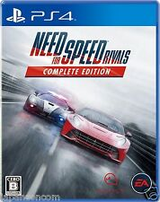 Used Need for Speed Rivals EA SONY PS4 PLAYSTATION JAPANESE IMPORT JAPANZON