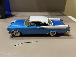 Western Models 1/43 1957 Blue/White Dodge Royal Lancer Hardtop