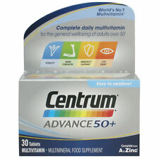 Centrum Advance 50+ Multivitamin & Minerals 30 Tablets