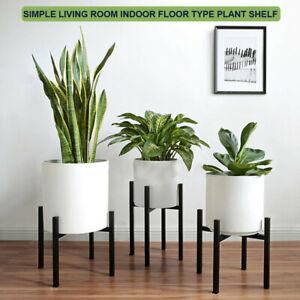 Metal Plant Stand Flower Pot Planter Holder Rack Outdoor Indoor Garden Shelf set