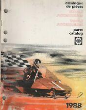 1988 Ski-Doo Snowmobile Tool Accessories Parts Manual 480 1230 00 (408)