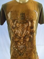 Emperor Eternity Great Devil Tattoo Men T-shirt Army L #hole