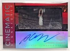 Andrew Wiggins 2015-16 Panini GALA Cinematic Signatures RED on-card Auto #d 9/10