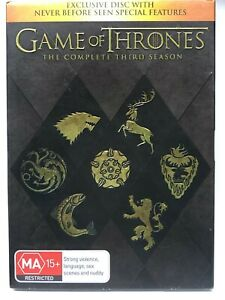 Game of Thrones - Complete Third Season - 6 DVD Set - AusPost with Tracking