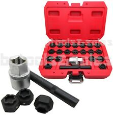 22pc Locking Wheel Bolt Nut Removal Set Master Key Kit 4 BMW Series Wheel Lock