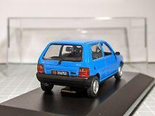 Fiat Uno Phase 1 Blue 1/43 NOREV Rare