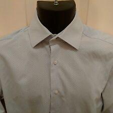 "Jasper Conran Superfine Yarn Blue Shirt 15"" 38cm"