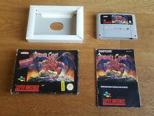 Demon's Crest (original) für SNES Super Nintendo inkl. OVP und Anleitung CIB PAL