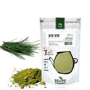 Medicinal Korean Herbal Powder, 100% Natural Pine Needle Powder 솔잎분말