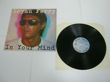 RECORD ALBUM BRYAN FERRY IN YOUR MIND 858