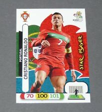CRISTIANO RONALDO CR7 STAR PLAYER PORTUGAL FOOTBALL CARD PANINI UEFA EURO 2012