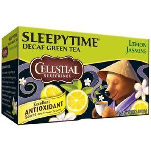 Celestial Seasonings Sleepytime Decaf Lemon Jasmine Green Tea