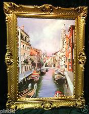 Paris Eifelturm Gerahmte Gemälde 90x70 Gemälde Eifelturm xxl Bild Wandbild
