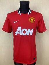 MANCHESTER UNITED 2011/2012 HOME SOCCER FOOTBALL JERSEY SHIRT NIKE ADULT SIZE S