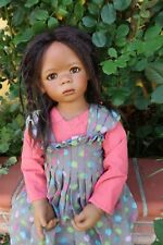 Annette HIMSTEDT 2008 Jointed Club doll LELETI Stored in Box LE 377