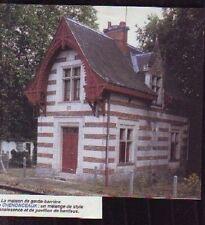 1995  --  CHENONCEAUX  MAISON DU GARDE BARRIERE  R085