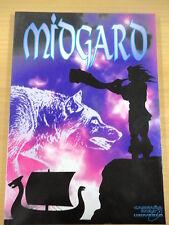 Libro Rol,Midgard,Ed.Cronopolis 1994