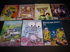 REGULAR SHOW #1 A B C D E F SUBSCRIPTION SET/7 CARTOON NETWORK MORDECAI RIGBY