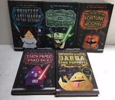 5 books lot The Origami Yoda Files Star Wars Tom Angleberger hardcover