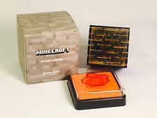 MINECRAFT Fish Stamp + Ink Pad Mine Chest Loot Crate DEEP OCEAN EXCLUSIVE