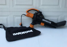 Worx Trivac Collection 3-in-1 Blower Mulcher And Vacuum With Leaf Collection