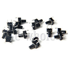 30 stk Microtaster Mikro Schalter Tactile Switch 4pin Microschalter 6x6x9mm GE