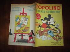 WALT DISNEY ALBO D'ORO N°38 TOPOLINO E PLUTO CORRIDORE 1*RISTAMPA 1951