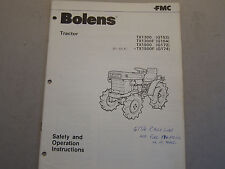 OEM Bolens Tractor TX1300 TX1500 1978 Safety Operation Manual LOTS More Listed