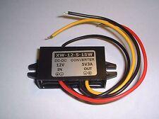 12V to 5V converter (3 amp) UK Seller
