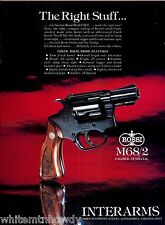 1984 ROSSI M68/2 .38 Special Revolver Vintage Print AD Advertising