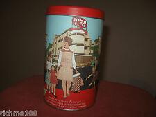 Elite Israel Nostalgic Edition Empty Candy Tin Box w/ Vintage Ramat Gan Print