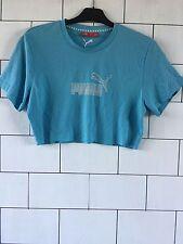 Urban Vintage Retro años 90 Festival Puma Camiseta Top corto de gran tamaño 6-10 #21