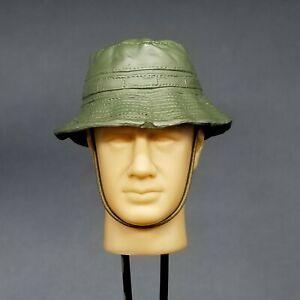 "1:6 Vietnam US Molded OD Green Boonie Hat for 12"" GI Joe Dragon BBI SEAL ACE"