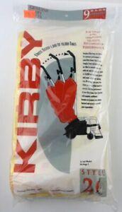 Genuine Kirby Style 2 Heritage 1 Vacuum Cleaner Paper Bags (Pack of 9)