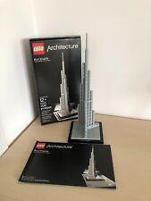 Lego Architecture 21008 Burj Khalifa 100% Complete w/ Box & Instructions