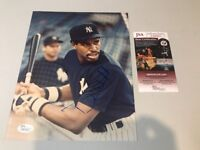 Dave Winfieldautograph Signed Yankees 8x10 Photo JSA