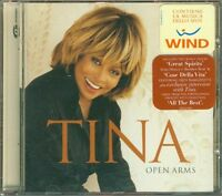 Tina Turner - Open Arms Con Sticker 4 Tracks (Duetto Ramazzotti) Cd Perfetto