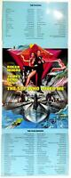 Unique Original Fold-Out Lobby Card Roger Moore James Bond 007 Spy Who Loved Me
