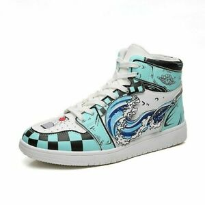 Anime Demon Slayer Cosplay Unisex Shoes Casual Fashion Sneakers Gym Outdoor Shoe