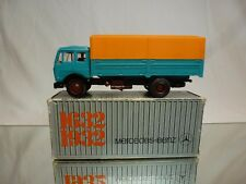 NZG MODELLE 153 MERCEDES BENZ  TRUCK 1632 1932 - BLUE 1:50 - VERY GOOD  IN BOX