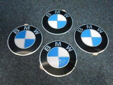 4X BMW Emblema 64,5mm para Tapacubos Nuevo E36 E34 E39 E46 E60 E81 E90 3er 5er