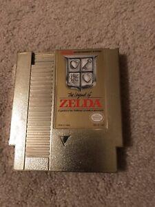 ORIGINAL 1985 THE LEGEND OF ZELDA GOLD EDITION NINTENDO NES-ZL871104