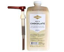 Fontana for Starbucks White Chocolate Mocha Sauce W/Pump 63oz- Best By 7/7/2021