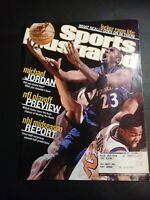 Jan 14, 2002 Issue Of Sports Illustrated With Michael Jordan On The Cover!!!!!