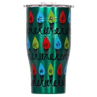Orca, Christmas Edition,27 OZ, Christmas Lights On Green Chaser
