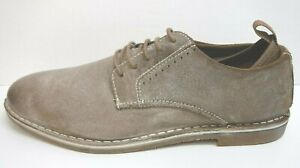 Steve Madden Size 13 Distressed Taupe Oxfords New Mens Shoes