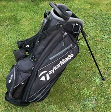 Taylor Made Golf Lightweight Stand Bag Black, Used Condition