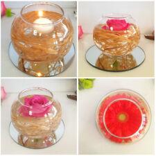 Glass Sphere Bowl x 4 Wedding Table Centrepiece Vases Fish Bowl 10cmD