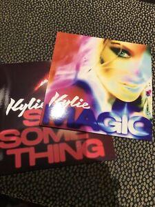 Kylie Minogue 7'' Singles - Say Something Red + Magic Yellow  uk vinyl single s