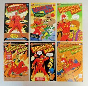 Radioactive Man #1-1000 (1993) 6 Book Lot Complete Series Simpsons Bongo Comics